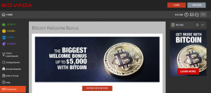 Bitcoin Casino Welcome Bonus at Bovada