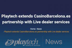 Playtech, CasinoBarcelona.es Extend Partnership with Live Casino Integration