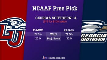 NCAAF Free Pick from Linebacker: Liberty vs Georgia Southern
