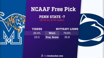 Linebacker Free Pick Cotton Bowl Memphis vs Penn State Odds Shark