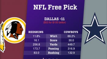 NFL Free Pick from Linebacker: Redskins vs Cowboys