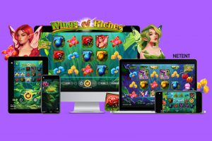 NetEnt Adds Wings of Riches Slot to Content Library