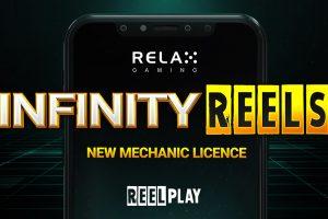 Relax Gaming Pens Infinity Reels Lisense Deal with ReelPlay