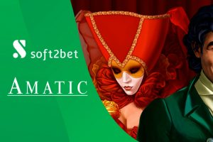 AMATIC to Deliver Casino Content to Soft2Bet Brands
