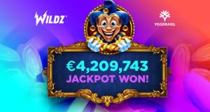 Wildz Casino Player Wins Big on Yggdrasil Slot Empire Fortune