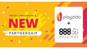Playzido to Supply Content to 888casino, Bingo Brands