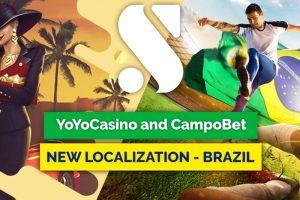 Soft2Bet Brands YoYoCasino, CampoBet Enter Brazil