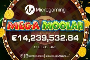 Swedish Player Hits €14.2 Million Jackpot on Microgaming's Mega Moolah