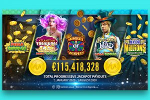 Spin Casino Player Bags €1.6 Million Jackpot on Microgaming's Major Millions