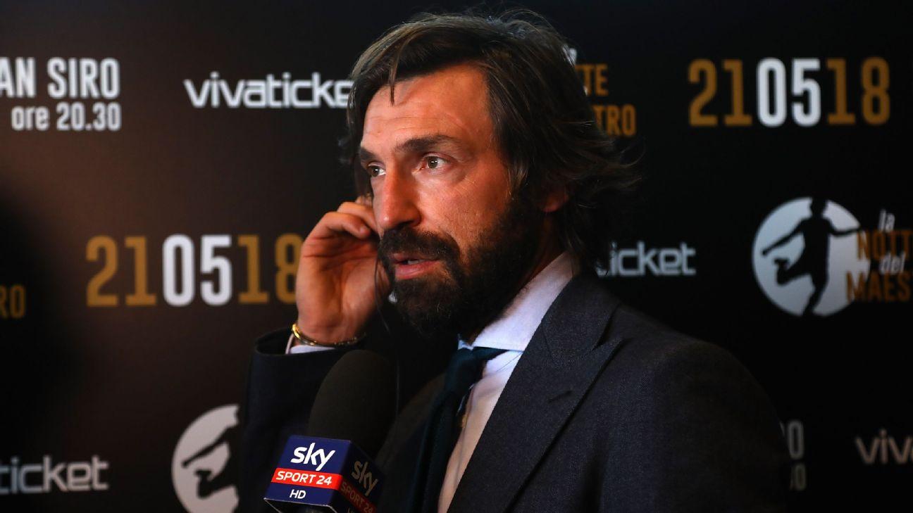 Andrea Pirlo replaces Maurizio Sarri as Juventus manager