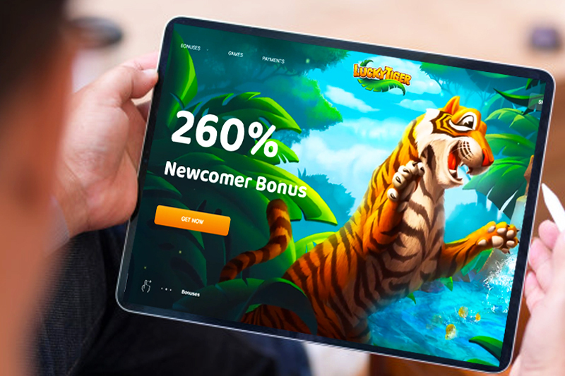 Aussie-, US- Friendly Lucky Tiger Casino Joins iGaming Universe