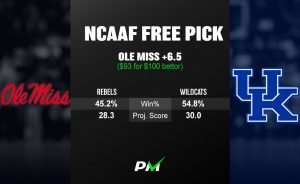 Prediction Machine NCAAF Free Pick: Ole Miss at Kentucky | Odds Shark